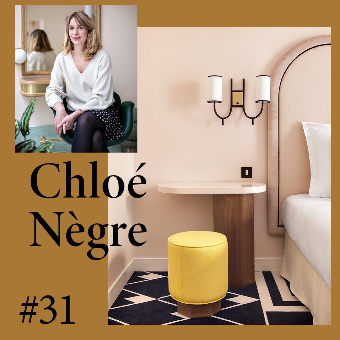 """#32 Chloé Nègre, architecte """"J'essaie de combiner créativité et cahier des charges"""""""