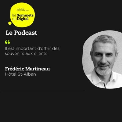 Frédéric Martineau - Au cœur du service client cover