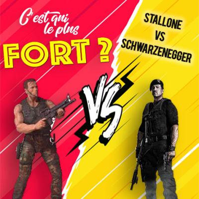 image #1 -  Arnold Schwarzenegger vs Sylvester Stallone