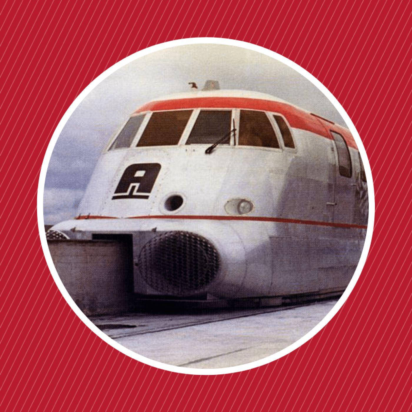 1957 : L'Aérotrain de Jean Bertin