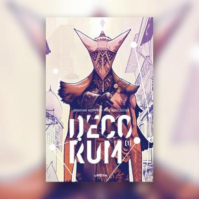 #59 Decorum - Jonathan Hickman & Mike Huddleston cover