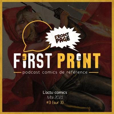Front Page : l'actualité comics de mai 2021 #3 (sur 3) ! cover