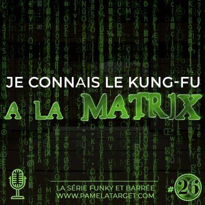 image PTS01E26 Je Connais Le Kung Fu A La Matrix