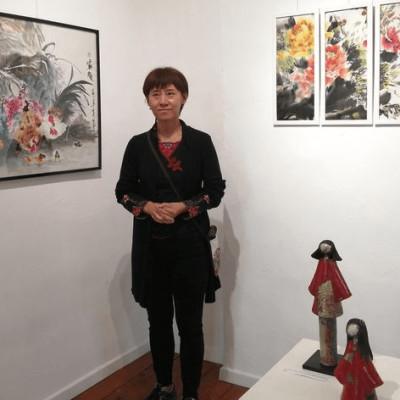XIANGNAN GUO, peintre chinoise, interviewée par Elise Serrano cover