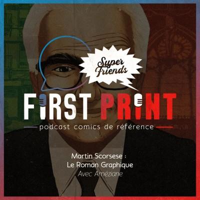Martin Scorsese : le roman graphique, avec Améziane [SuperFriends] cover