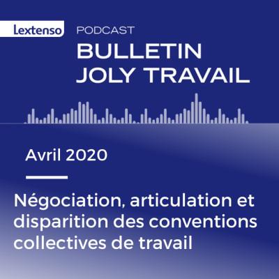 Négociation, articulation et disparition des conventions collectives de travail, cover