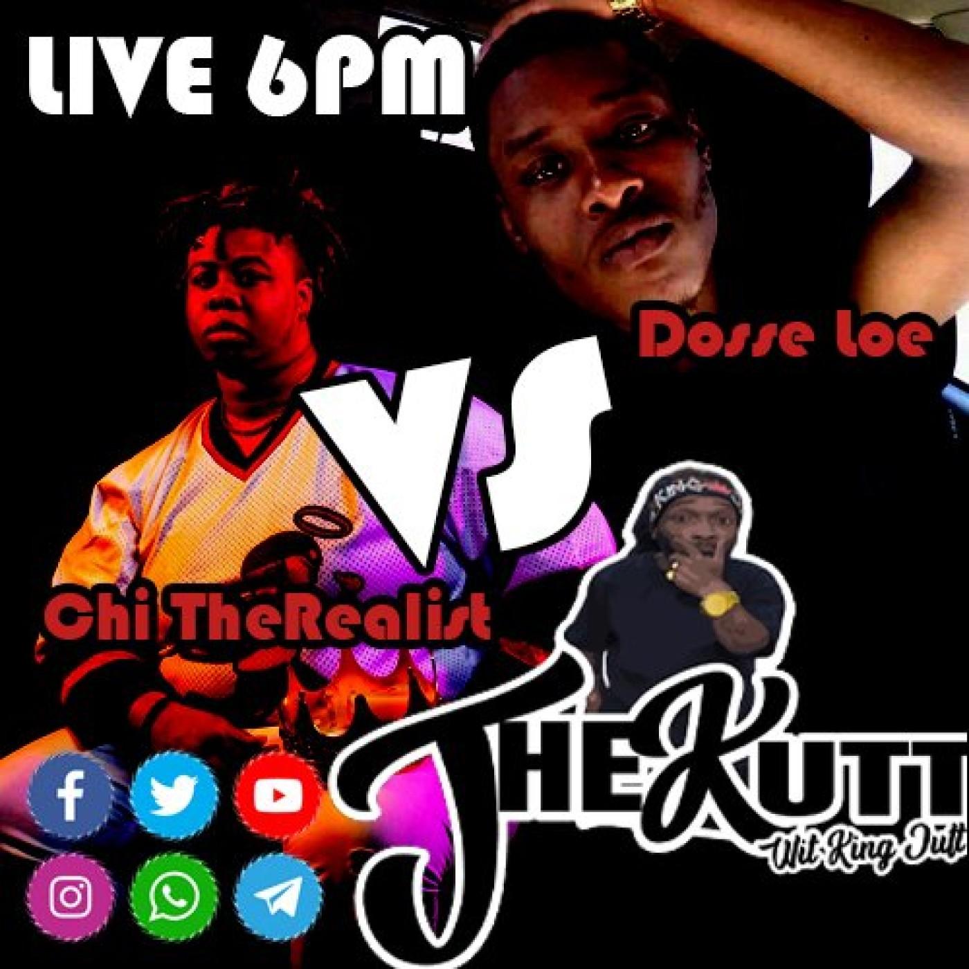 "The Kutt wit King Jutt Episode 17 1st EVER Verzus Battle Chi TheRealist vs Dosseh Loe"""
