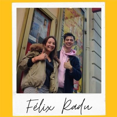 #36 | La vie est un sacré beau bordel - Félix Radu (auteur & comédien) cover