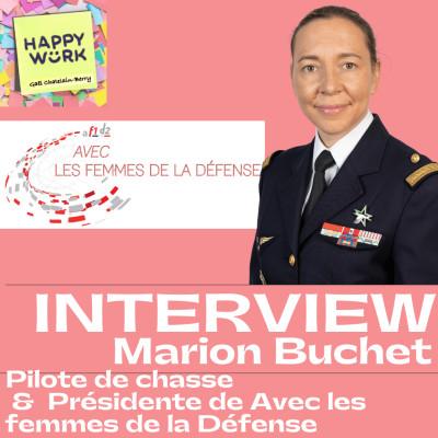 """#308 - INTERVIEW - Marion Buchet - Pilote de Chasse, Présidente de """"Avec les femmes de la Défense"""" cover"""
