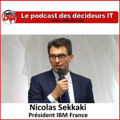 image Nicolas Sekkaki, Président d'IBM France, inauguration du site IBM Paris-Saclay dédié à l'IA