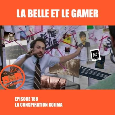 Episode 188: La Conspiration Kojima cover