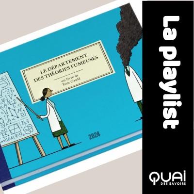 Le département des théories fumeuses, par Tom Gauld cover