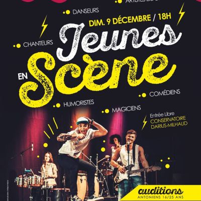 image Jeunes en Scène en direct du Conservatoire Darius Milhaud (17/12/18)