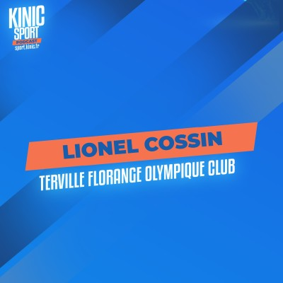 #21 - Lionel Cossin  : Terville Florange Olympique Club cover