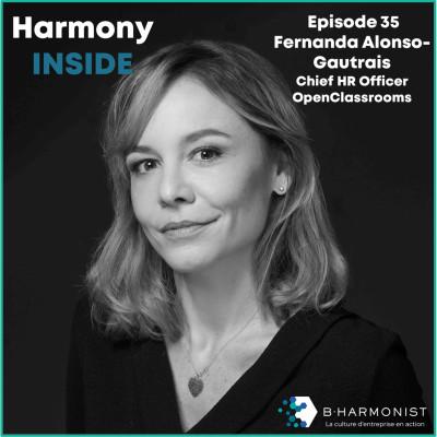 #35 Fernanda Alonso-Gautrais, OpenClassrooms : « On peut avoir un impact si c'est vraiment au cœur du modèle économique de l'entreprise » cover