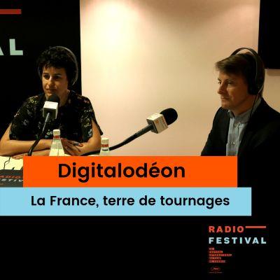 La France terre de tournages avec Rémi Bergues et Valérie Lépine-Karnik - 21 mai 2019 cover