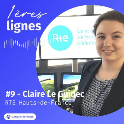 """#9 - Claire Le Guidec - """"Soyez curieuses, saisissez les opportunités, osez tenter des expériences"""". RTE cover"""