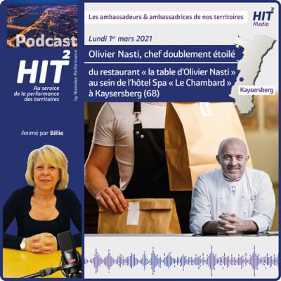 Olivier Nasti, chef doublement étoilé du restaurant «la table d'Olivier Nasti» au sein de l'hôtel Spa «Le Chambard» à Kaysersberg (68... cover