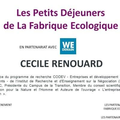 Petit déjeuner / Cécile Renouard cover