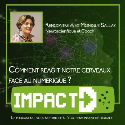 Rencontre avec Monique Sallaz - Comment notre cerveau réagit face au numérique ? cover