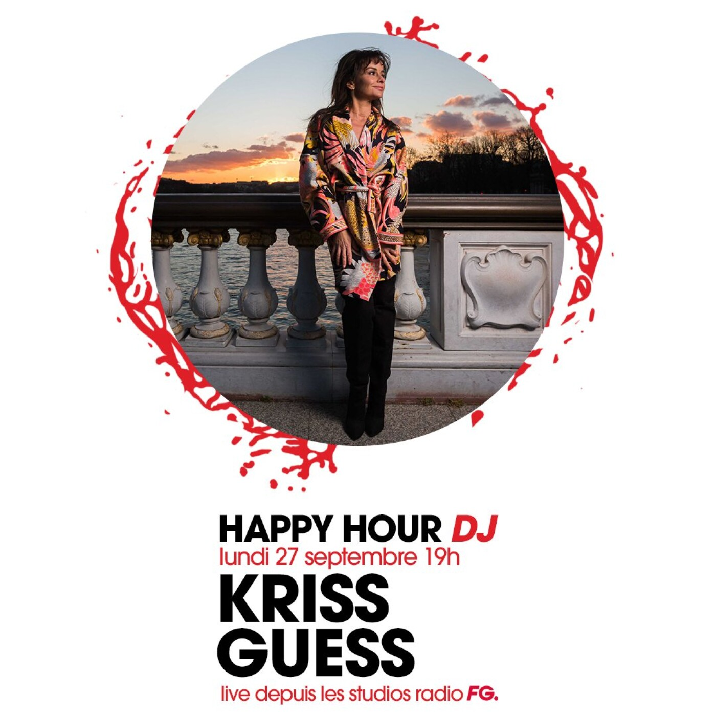 HAPPY HOUR DJ : KRISS GUESS