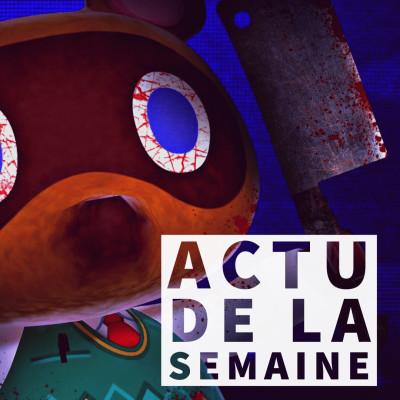 #Actu - Covid19 les jeux vidéo non essentiels, un film d'horreur Animal Crossing et une surprise chez Playstation cover