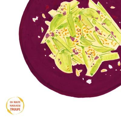 Salade de nouilles de chou rave cover