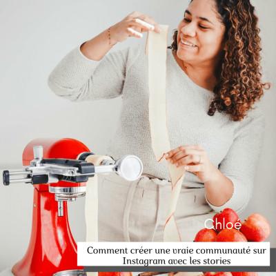 #19 Comment créer une vraie communauté engagée sur Instagram avec Chloé cover