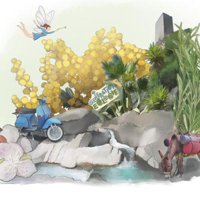 Fées, jardins et autres merveilles : voyage à Roquebrun cover