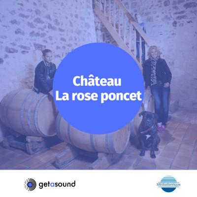 image Château La Rose Poncet : Portrait de vigneronne avec Elisabeth Rousseau