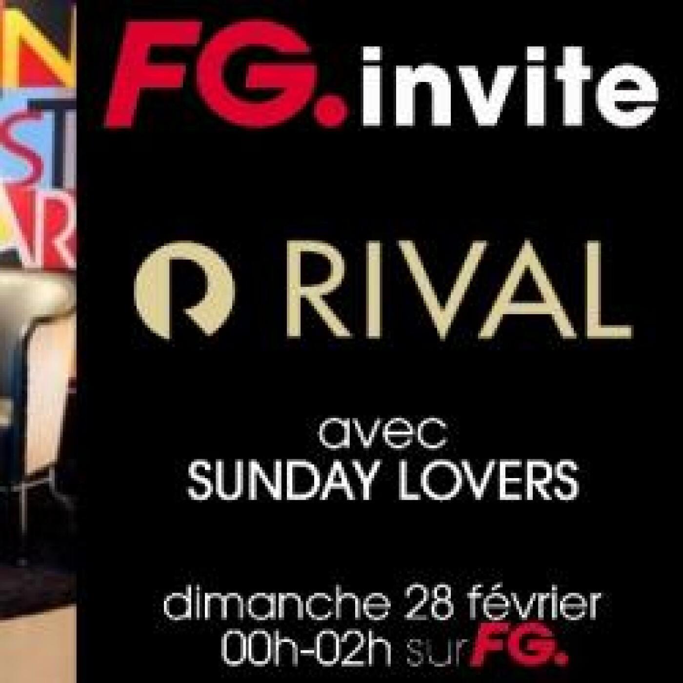 FG INVITE : LE RIVAL HOTEL DE STOCKHOLM