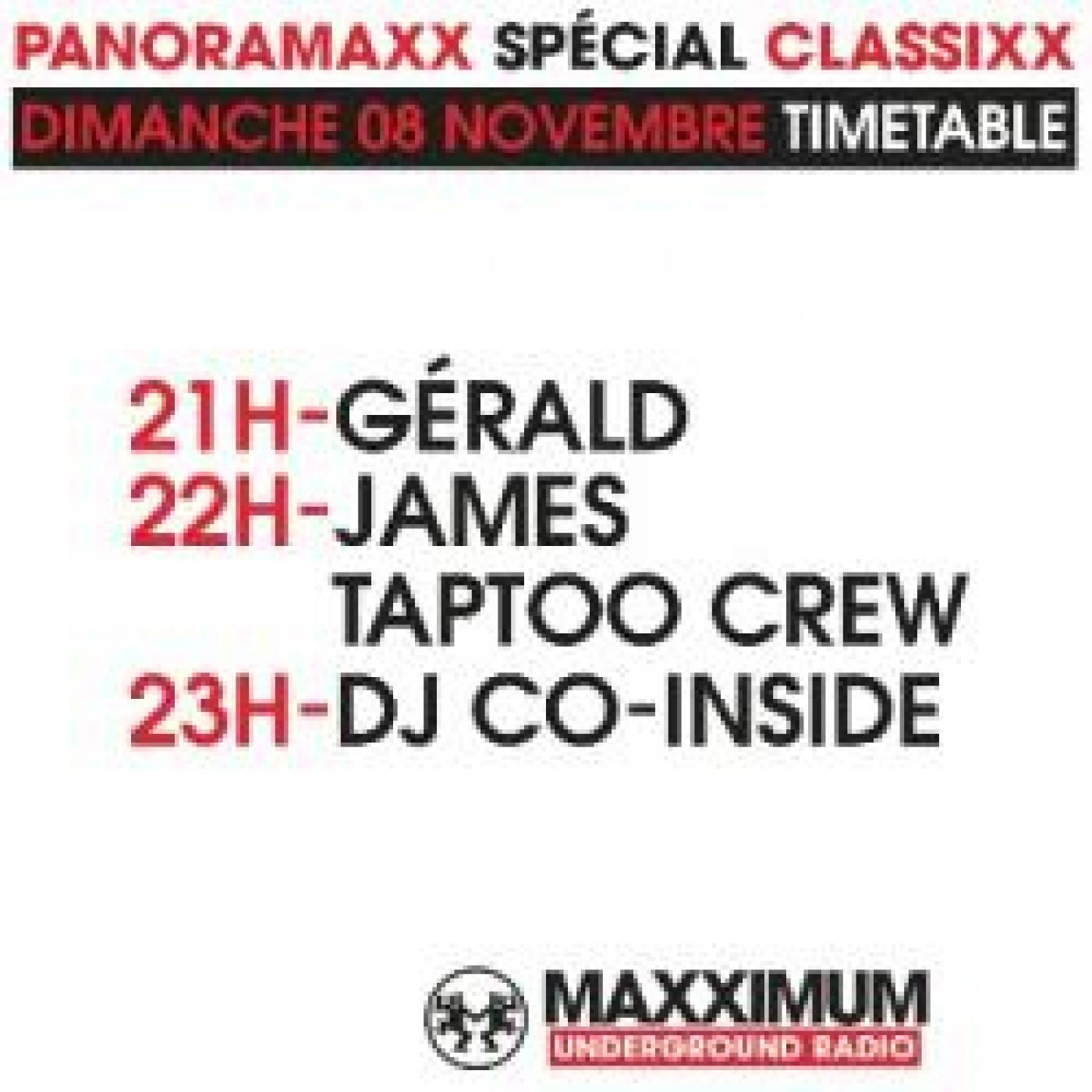 PANORAMAXX CLASSIXX : DJ CO-INSIDE