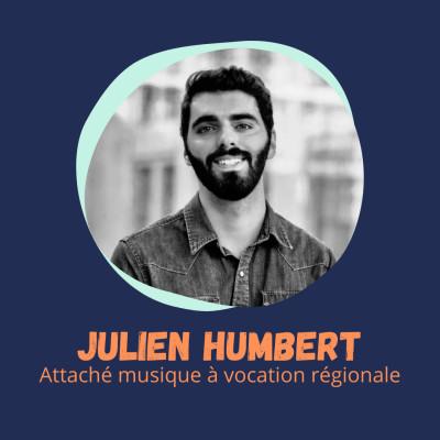 """""""Je ne savais pas comment entrer dans le secteur musical"""" - Julien Humbert, Attaché musique à vocation régional cover"""