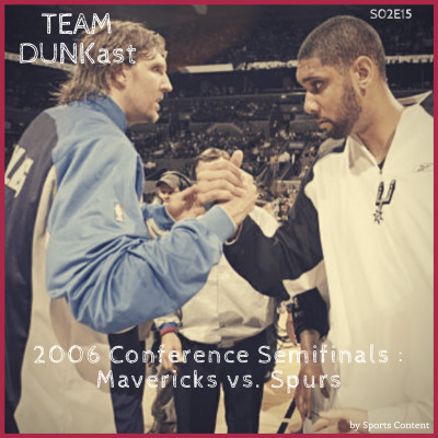 2006 Conference Semifinals : Mavs - Spurs cover