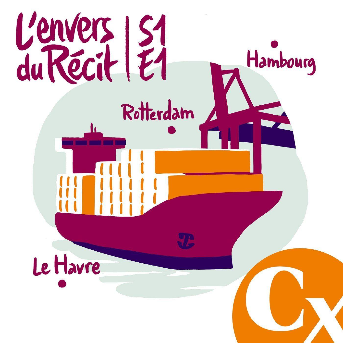 """""""Voyage à bord d'un porte-conteneurs"""" - Alain Guillemoles - S1E1"""