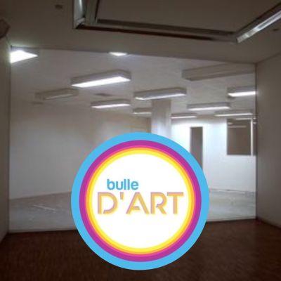 """image Bulle d'art #5 - """"Averse"""" de Delphine Reist, une drôle de pluie de néons"""