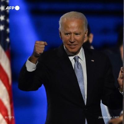 Joe Biden ou le phénix devenu président cover