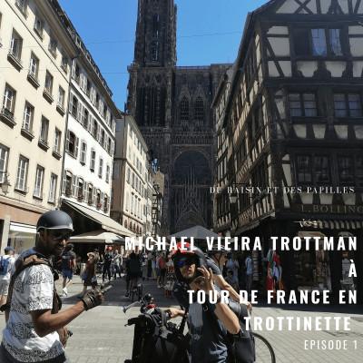 Trott-man: le tour de France en trottinette éléctrique, le grand départ