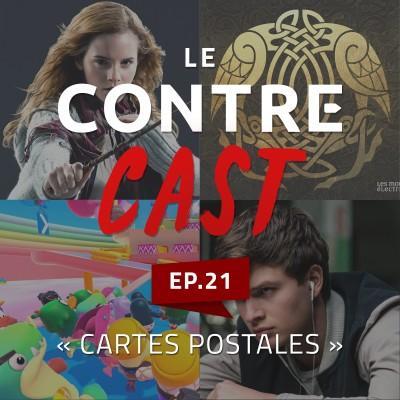 LeContreCast #21 - Cartes Postales cover