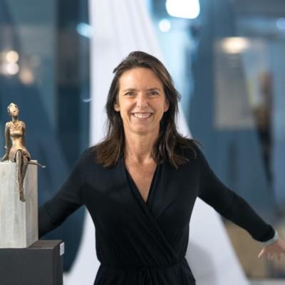Gaëlle, artiste Française, sculpteure à NewYork, USA - 02 06 2021 - StereoChic Radio cover