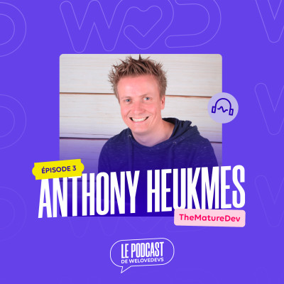 #3 - Anthony Heukmes - Je fais tout pour être le plus libre possible cover