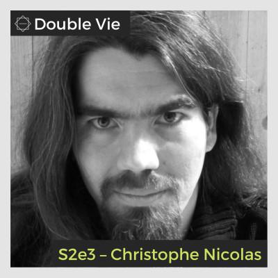 S02e03 — Christophe Nicolas – Auteur de fantastique et de polar cover