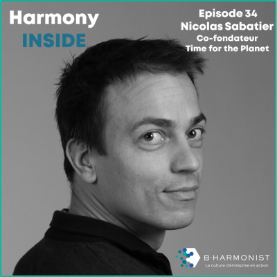#34 Nicolas Sabatier, Time for the Planet : « Rien ne nous force à faire une entreprise pour accumuler de l'argent » cover