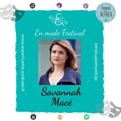 """image """"En mode Festival"""" - Savannah Macé - La mémoire du théâtre contemporain"""