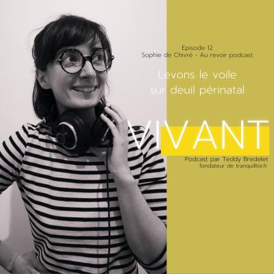 """EPISODE 12 (1/2) - Aurevoir podcast """"Levons le voile sur le deuil périnatal"""" cover"""