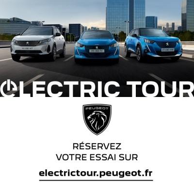 Colmar, participez à l'Electrictour chez Peugeot Colmar ! cover