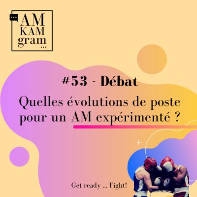 Episode 53 : Débat - Quelles évolutions de poste pour un AM expérimenté ? cover