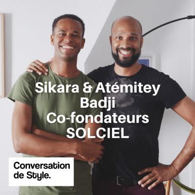 24 - Conversation avec Atémitey et Sikara Badji, Co-fondateurs de SOLCIEL cover