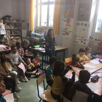 image Radio Bitume - émission n°10 hors les murs avec les enfants de l'école 100 République - enregistrée le lundi 3 juin