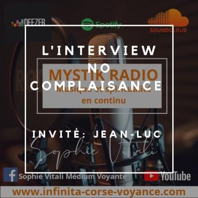 Interview No complaisance Jean-Luc de Infinità Corse Voyance cover